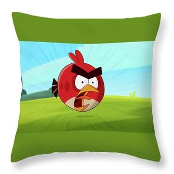 Angry Birds Throw Pillow