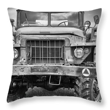 Angry Grandpa Throw Pillow