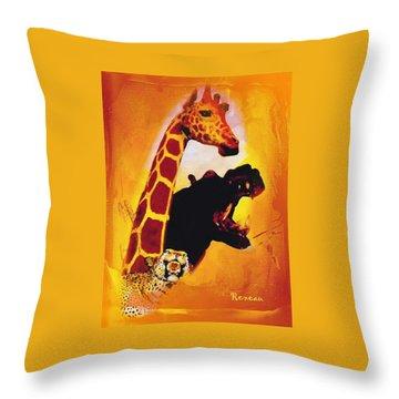 Animal Farm Throw Pillow