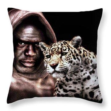 Animal Totem Throw Pillow
