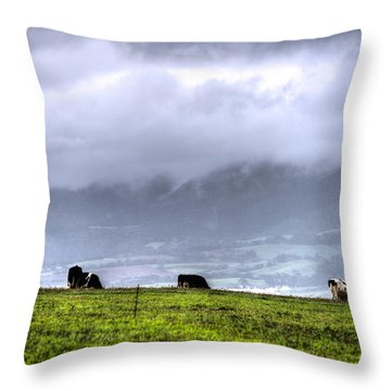 Animals Livestock-03 Throw Pillow