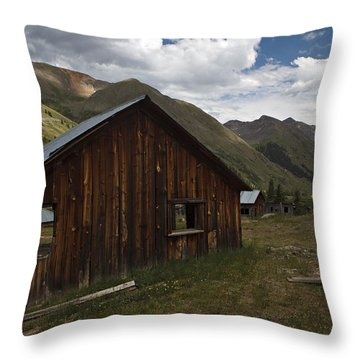Animas Forks Throw Pillow