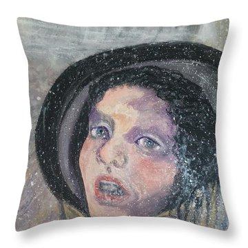 Anna Karenina  Throw Pillow