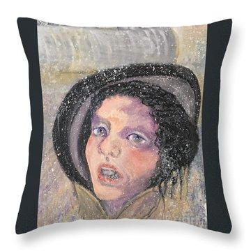 Anna Korenina Throw Pillow