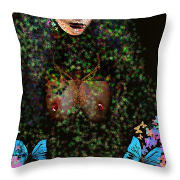 Anna Perenna Throw Pillow