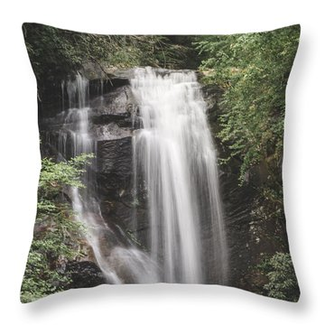 Anna Ruby Falls Throw Pillow by David Collins