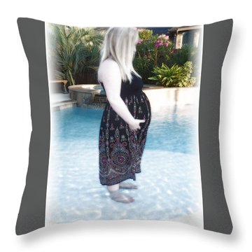 Annah Glow Throw Pillow