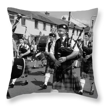Annan Riding Of The Marches Throw Pillow
