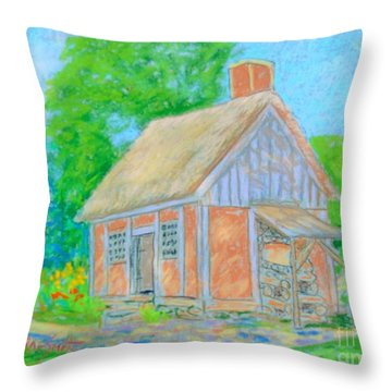 Annapolis Royal Historic Park Throw Pillow