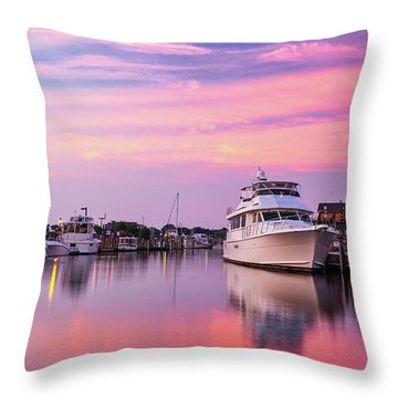 Annapolis Sunrise Throw Pillow