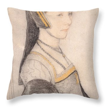 Anne Cresacre Throw Pillow