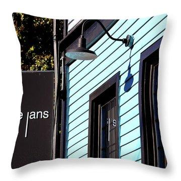 Anneke Jans Throw Pillow