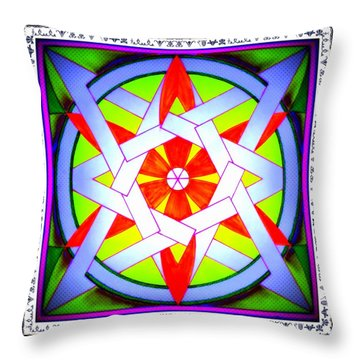 Annette Wald Throw Pillow