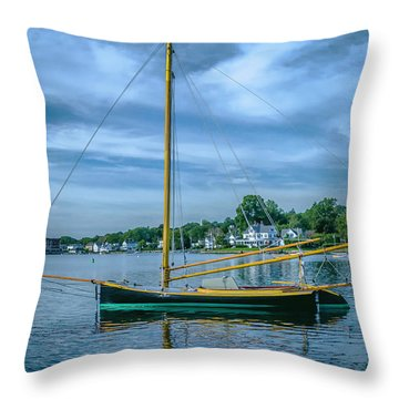 Annie, Mystic Seaport Museum Throw Pillow