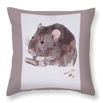 Annie's Tale Throw Pillow