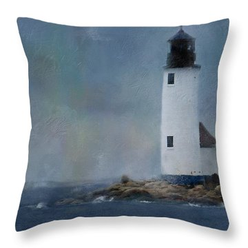 Anisquam Rain Throw Pillow