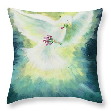 Anointed Throw Pillow