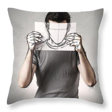 Sketch Throw Pillows