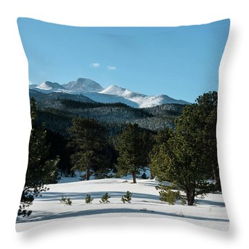Another Beautiful Day In Rocky Mountain National Park - 0612 Throw Pillow
