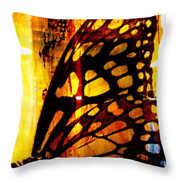 Another Butterfly Throw Pillow