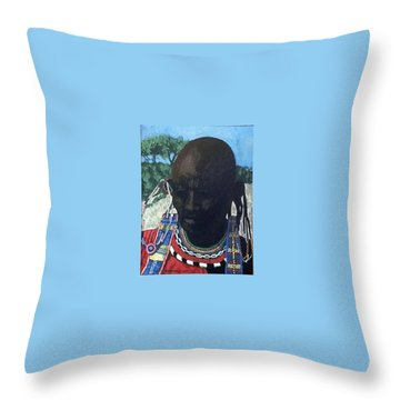 Another Cloudless Day Throw Pillow