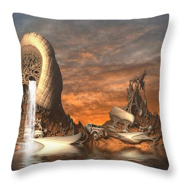A Mystery To Me Throw Pillow