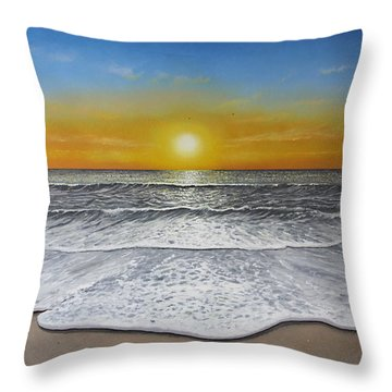 Another Day Throw Pillow by Paul Newcastle