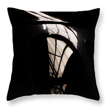 Throw Pillow featuring the photograph Another Door by Paul Job