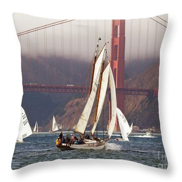 Another Fine Day Throw Pillow