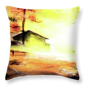Another Good Morning Throw Pillow