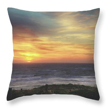 Another Goodbye Throw Pillow by Laurie Search