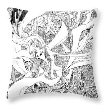 Another Kind Of Peace Throw Pillow