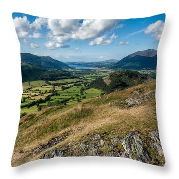 Another Lakeland View Throw Pillow