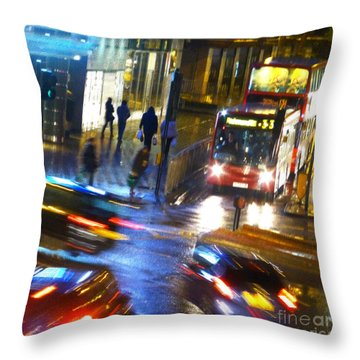 Throw Pillow featuring the photograph Another Manic Monday by LemonArt Photography