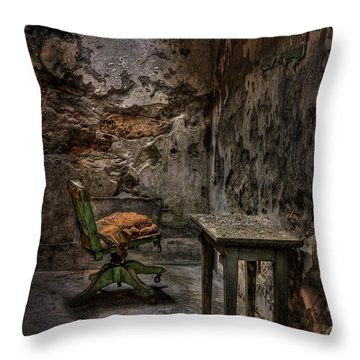 Another One Bites The Dust Throw Pillow by Evelina Kremsdorf
