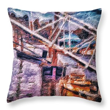 Another Picture For A Dentist Waiting Room Throw Pillow