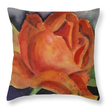 Another Rose Throw Pillow