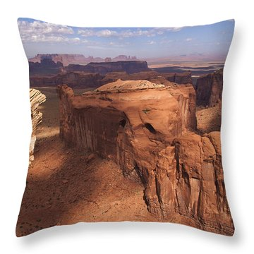 Another View From Hunt's Mesa Throw Pillow