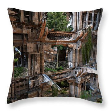 Another Win For Nature Throw Pillow