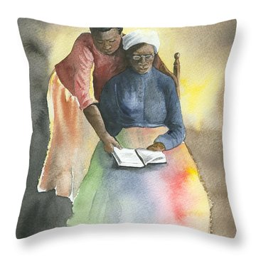 Another Wisdom Throw Pillow