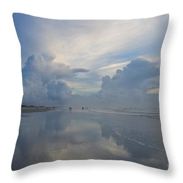 Another World Throw Pillow by LeeAnn Kendall
