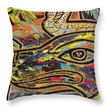 Anpu Throw Pillow