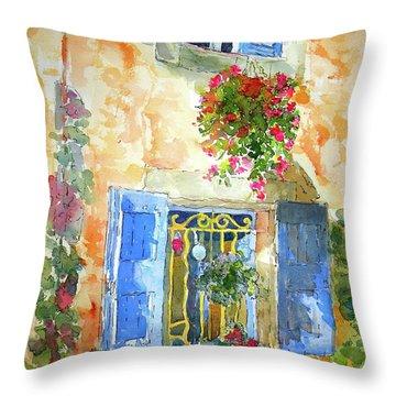 Ansouis Windowbox Throw Pillow