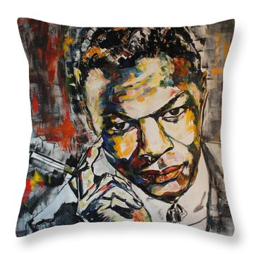 Answer Me Oh My Love Throw Pillow