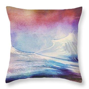 Antarctic Impression Throw Pillow