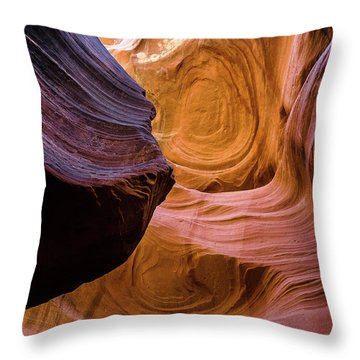 Antelope Canyon 12 Throw Pillow