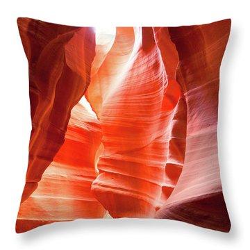 Antelope Canyon 2 Throw Pillow