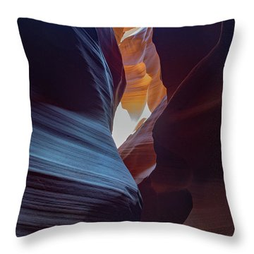 Antelope Canyon 22 Throw Pillow