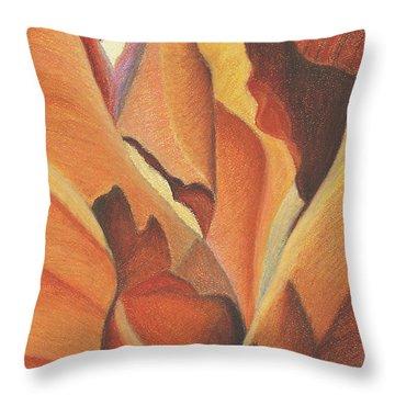 Antelope Canyon 4 - For Gloria Throw Pillow