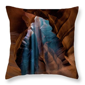 Antelope Canyon 6 Throw Pillow